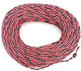 Epoch Flexible 2 Core Red & Black Electrical Wire 0.5 Sq mm 10 Meter