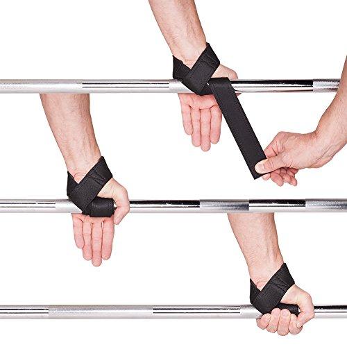 Profi-Grip Zughilfen T12-0 / Top Power Wrist Straps / Lifting Straps / Bodybuilding & Kraftsport - 3