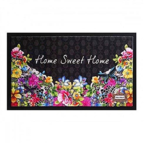 Bavaria Home Style Collection - Modell Home Sweet Home - Fussmatte robuste Schmutzabstreifer - braun ca 45 x 75 cm