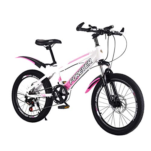 YC Biciclette per Bambini, Mountain Bike, Fattore di Sicurezza Elevato, Freni Sensibili, 6-10-15 Anni, Ragazzi E Ragazze, Mountain Bike per Bambini Grandi