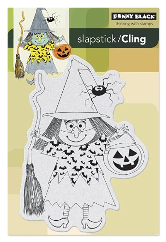 Penny Black Witch Masquerade Slapstick/Cling Stamps