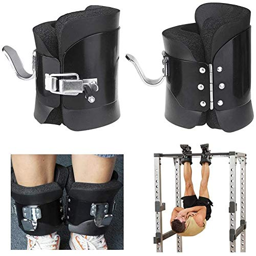 For Sale! Gravity Boots Inversion Boots with Safety Lock Hanging Gym Fitness Physio Therapy Posture ...