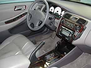 HONDA Accord Sedan 4 Puerta Interior de Madera del Burl Dash Juego de Acabados Set 1998 1999 2000