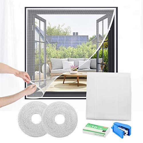 Jumkeet Moustiquaires pour Fenêtre, 150 * 150cm Fenêtre Mous