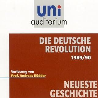 Die deutsche Revolution 1989/90 Titelbild