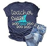 Teacher Shark T Shirt for Women