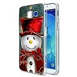 Pnakqil Noël Coque Samsung Galaxy A3 2017, Transparente avec Christmas Motif Flexible Silicone...