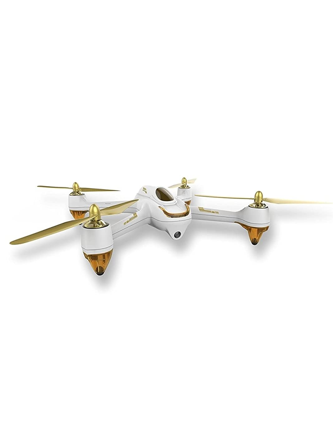 RC Quadcopter RTF (Hubsan H501S X4) - 5.8G FPV Brushless With 1080P HD Camera GPS (Version: Professional-Color:White and Gold-Mode:Switch)