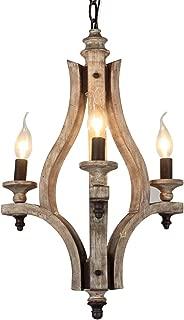 kitchen chandelier rustic