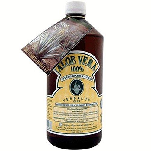 Jugo Aloe Vera 1L 100% Eco 1 Litro de Verdaloe