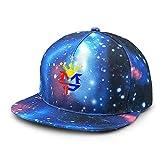 T T Store Manny Pacquiao Philippine Flag Sun Symbol Sombreros para niños Gorra de béisbol de ala Plana Ajustable Sombrero de Cielo Estrellado para Adultos Gorras Snapback para niños y niñas