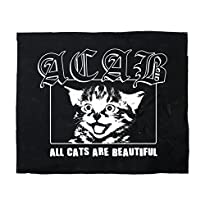 Impact-Mailorder Backpatch Motiv ACAB - All Cats are beautiful, 30 x 30 cm