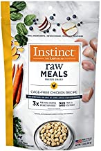 Instinct Freeze Dried Raw Meals Grain Free Cage Free Chicken Recipe Cat Food by Nature's Variety, 9.5 oz. Bag