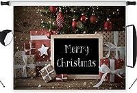 ZPC 7x5ft屋内クリスマス装飾ポリ生地クリスマス写真の背景カスタマイズされたスタジオの背景写真背景スタジオ小道具SDX680