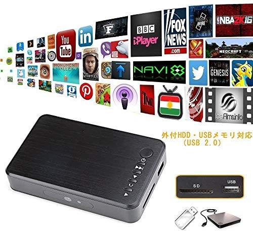 『多功能便携式媒体播放器 HDMI / VGA 输出 OTG USB / / SD / AV / 电视 / Avi 格式 / RMVB 全高清支持1080P 高清画质播放多种输出』の4枚目の画像
