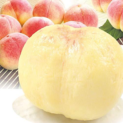 国華園 長野産 太鼓判・優糖生 6〜8玉1箱 もも 桃