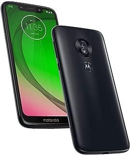"Motorola Moto G7 Play (32GB, 2GB RAM) 5.7"" HD+ Max Vision Display, Dual SIM GSM Factory Unlocked - XT1952-1, US & Global 4G LTE International Model (Deep Indigo, 32 GB)"