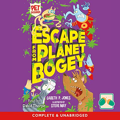 Escape from Planet Bogey                   Written by:                                                                                                                                 Gareth P. Jones                               Narrated by:                                                                                                                                 David Thorpe                      Length: 1 hr and 44 mins     Not rated yet     Overall 0.0