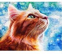 大人のジグソーパズル2000ピース猫ジグソーパズルスマート減圧楽しい子供大人のジグソーパズルゲーム