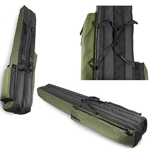 Fishing Rod Holdall, Holder, Bag, Carry Case, Luggage for made up rods with reels - 170cm / 67in...