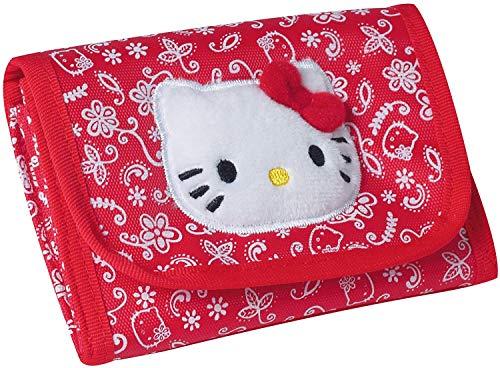 Hello Kitty Brieftasche, Geldbörse, Geldbeutel, Portemonnaie Rot