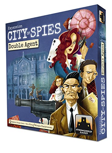 Stronghold Games STG07060 Brettspiel City of Spies: Double Agents Expansion