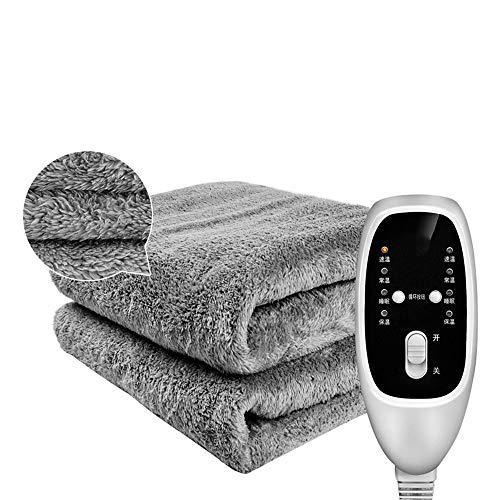 Household products Huishoudelijke grote elektrische verwarmingsdeken, 4 soorten snel verwarmen, comfort, matrashoes, verwarmingsdeken met dubbele thermostaat