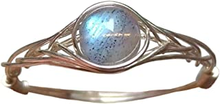 size8 Original 925 Sterling Silver Genuine Moonstone Ring Handmade (5-12# available)