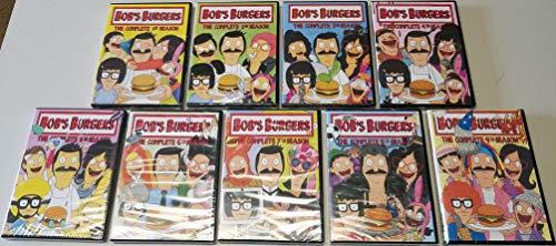 Bob's Burgers: TV Series Complete Seasons 1-9 DVD Collection