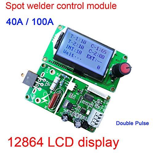 Alician 100 A / 40 A LCD-Display, digitaler Doppelpuls-Encoder, Schweißgerät, Transformator, Steuerplatine, Zeitkontrolle, Haushaltswerkzeuge 100A siehe abbildung