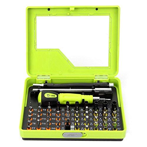 53 in1 Multi-Bit Precisie Torx Schroevendraaier Pincet voor Laptop Mobiele Elektronica Reparatie Tool