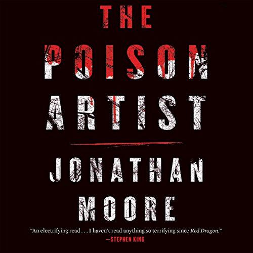 Poison Artist audiobook cover art