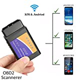 Randalfy New Car WIFI OBD2 Scanner - OBD Reader with Wifi Version OBD2 Code Reader for for iPhone IOS OBD2...