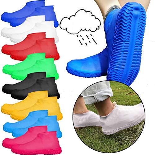 Schuhüberzieher,100 Stück Kunststoff Uberschuhe Wasserdichte Uberziehschuhe Für Familien und Outdoorreisen (50 Paar)