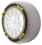TURISPORT GT0 Cadenas de Nieve Textiles Grip-Tex