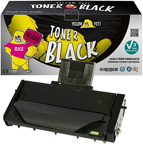 Yellow Yeti 407254 (2,600 Pages) Compatible Toner Cartridge for use with Ricoh SP200 SP201 SP202 SP203 SP204 SP210 SP211 SP212 SP213 N NW S SF SFN SFNW SFW SNW SU SUW W [3 Years Warranty]