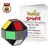 Rubik's Twist | Jouet puzzle multicolore 3D idéal si l'on a la bougeotte, courbez et tordez-le pour former des objets, des figures et des animaux, , avec son Guide de poche