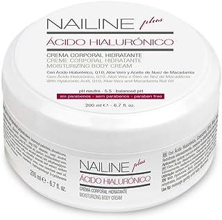 Nailine Plus Crema Corporal con Ácido Hialurónico Coenzima Q10 y Aloe Vera 200ml