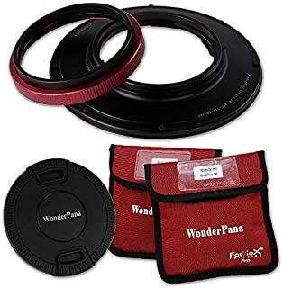 WonderPana FreeArc 145mm Rotating Filter Holder Compatible with Olympus 7-14mm f/2.8 M.ZUIKO Digital ED PRO Micro Four Thirds Mount Lens