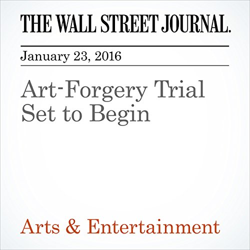 Art-Forgery Trial Set to Begin audiobook cover art