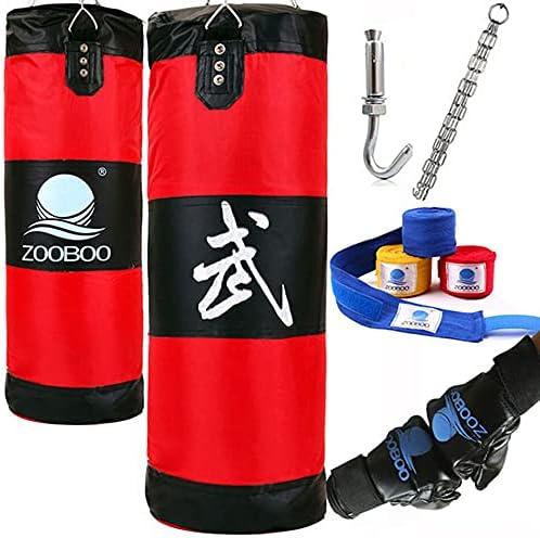 FFOO Ultra-Cheap Deals Boxing Bag Punching Bags Bombing free shipping Fitness Training 100cm Punc