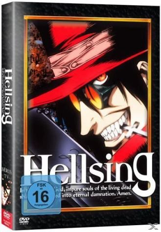 Hellsing - Gesamtausgabe [4 DVDs] [Limited Collector's Edition] [Limited Edition]