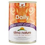 Almo Naturure - Alimentos Diarios para Gatos, 400 g, Grano Libre con Conejo, Paquete de 24