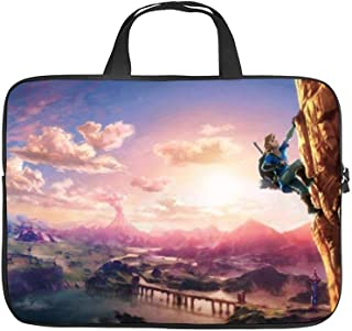 Zelda Landscape Video Games Video Game Art Climbing,Universal Laptop Computer Tablet,Bag,Cover for,Apple/MacBook/HP/Acer/Asus/Dell/Lenovo/Samsung,Laptop Sleeve,32x24x1.5cm