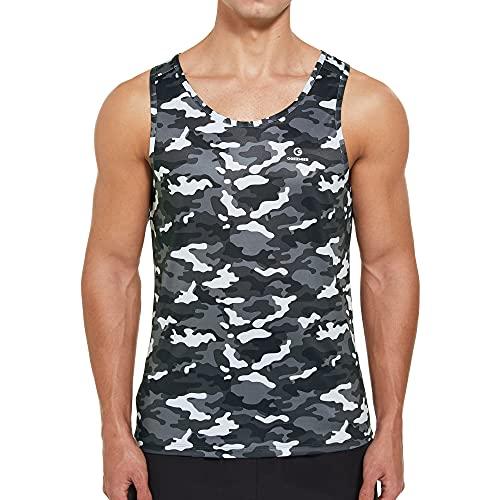 Ogeenier Men's Training Sports Tank Top Shirt
