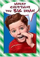 You Big Homoクリスマスユーモア用紙カード 1 Christmas Card & Envelope (SKU:1436)