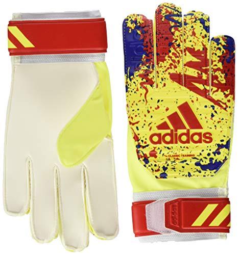 adidas Unisex-Erwachsene DT8746 Goalkeeper Gloves, Mehrfarbig (Amasol/Rojact/Fooblu) , 10.5