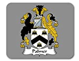Palmer Coat of Arms/Palmer Family Crest Mousepad by Carpe Diem Designs, Made in The U.S.A