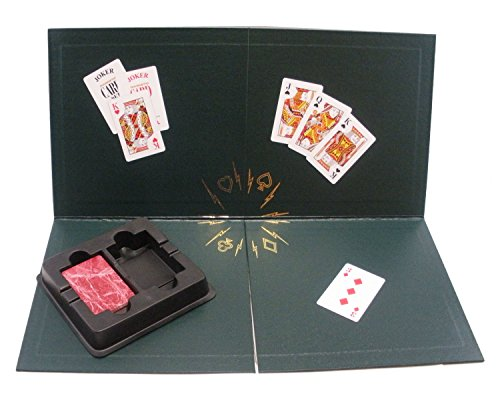 Kling Magnetic Playing Cards Quarter Fold Board with 1 Red Deck
