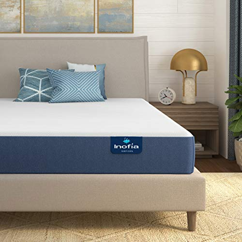 Inofia 6 Inch Full Size Mattress Made in USA,...